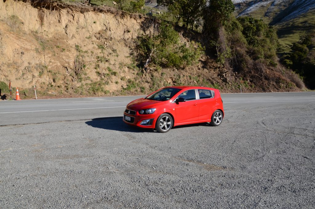 This is the Holden Barina we rented while in New Zealand.